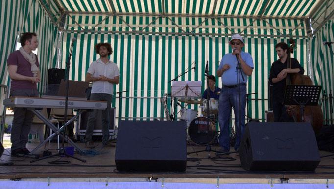 Festival JAZZ360 2014, Vincent Vilnet, Brice Matha, Pierre Lucbert, Richard raducanu, Gabriel Pierre. Cénac, 07/06/2014