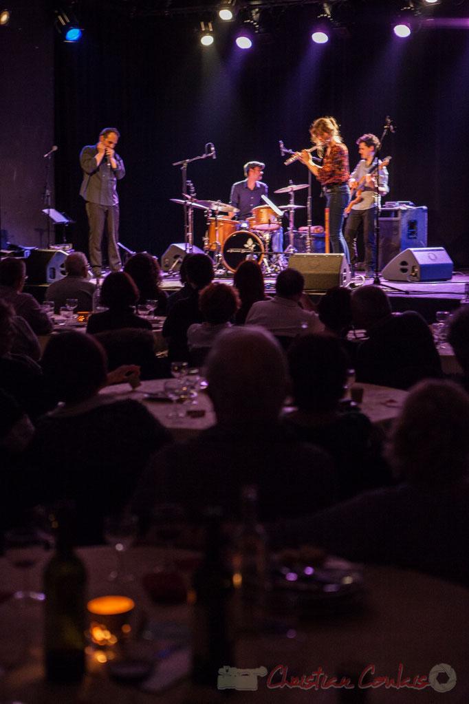 Youpi Quartet, Soirée cabaret JAZZ360 à Cénac, 19/03/2016