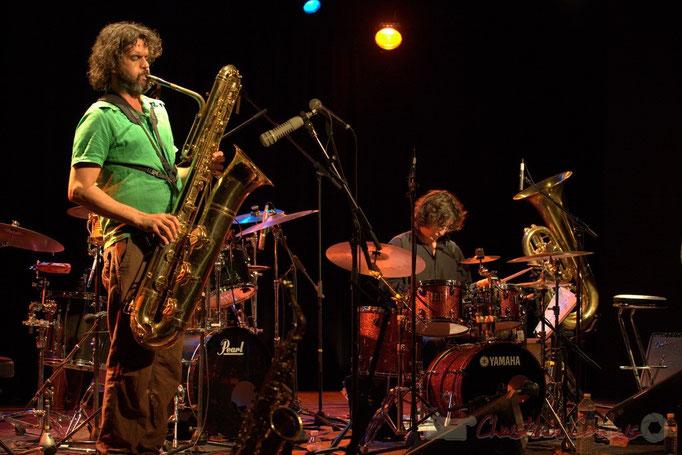 Grat Martinez, David Muris; Manguidem Taf Taf Trio, Festival JAZZ360 2012, Cénac. 09/06/2012