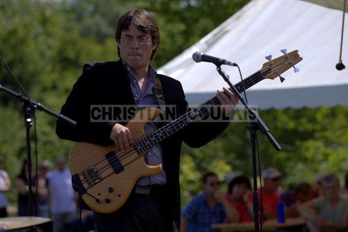 Benjamin Pellier; Akoda Quintet, Festival JAZZ360 2014, Quinsac. 08/06/2014