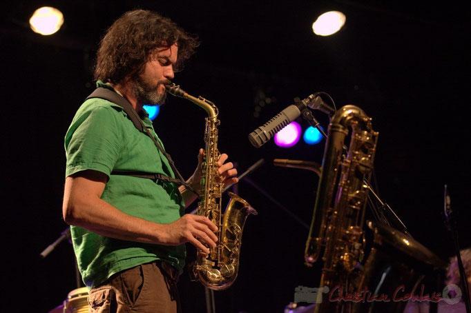 Grat Martinez; Manguidem Taf Taf Trio, Festival JAZZ360 2012, Cénac. 09/06/2012