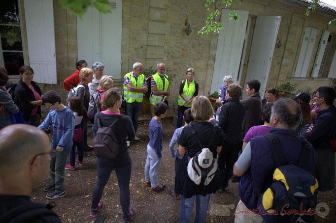 Festival JAZZ360 2015, randonnée pédrestre, Château Brethous, Camblanes-et-Meynac. 14/06/2015