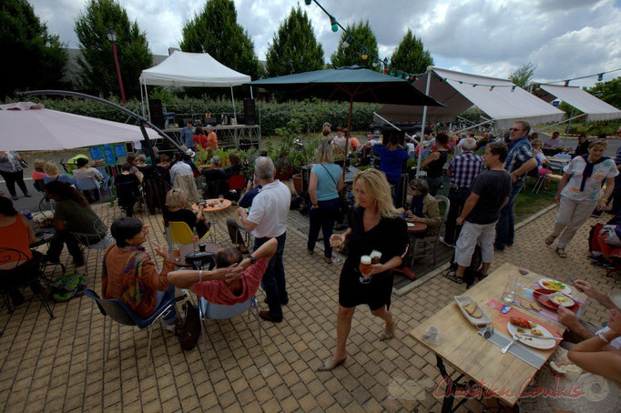 "Festival JAZZ360 2015, ""Avant-concert"", gare de Latresne, 14/06/2015"