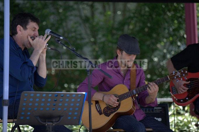Cadijo, Baptiste Duperron; Cadijo vagabond blues project, Festival JAZZ360 2014, Latresne. 08/06/2014