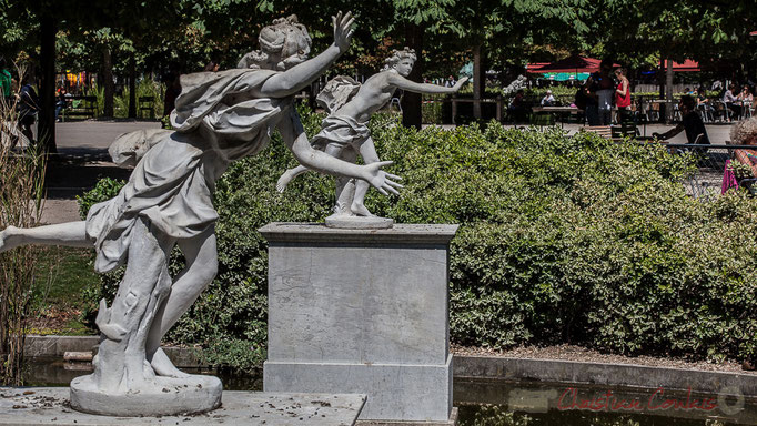 Coureurs d'Atalante, Coustou et Le Pautre, Jardin des Tuileries, Paris 1er
