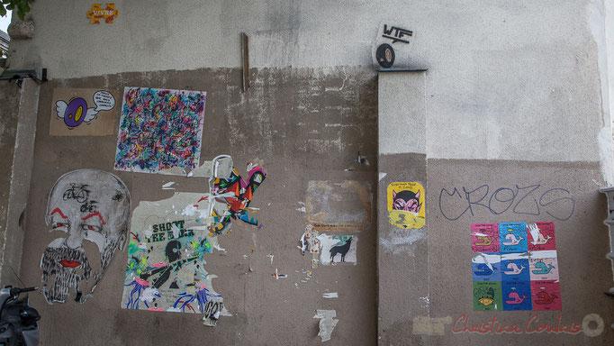 Expression libre, Centre sportif Candie, rue de Candie, Paris 11ème arrondissement