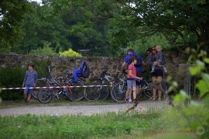"""Festival JAZZ360 2015, """"on y vient à vélo"""" Château Lestange, Quinsac. 14/06/2015"""