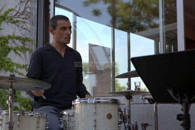 José Vicente Da Silva; Soundscape Trio, Festival JAZZ360 2014, Cénac. 07/06/2014