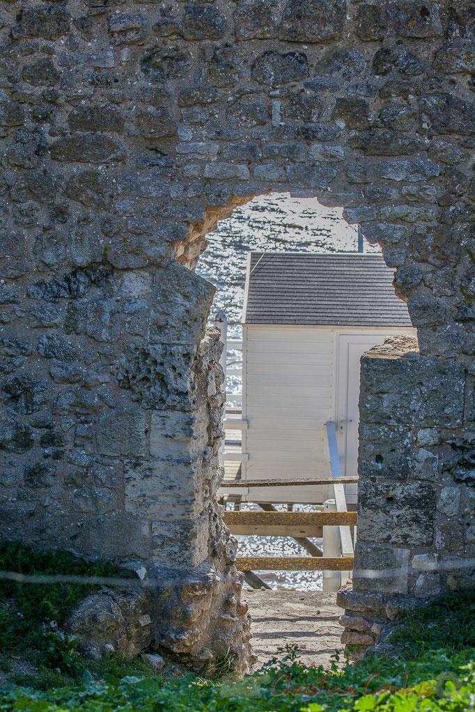 Carrelet et ponton, la Tour Blanche, Talmont-sur-Gironde