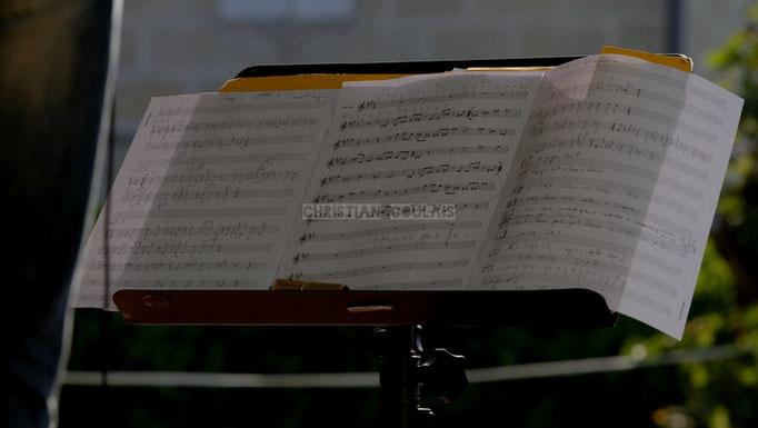 Festival JAZZ360 2014, partition de Guillaume Schmidt; EBop Quartet, Cénac. 07/06/2014