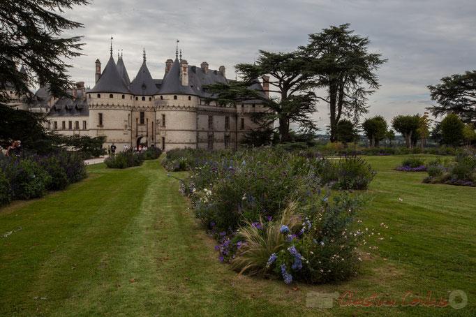 Le Château féodal, Domaine de Chaumont-sur-Loire, Loir-et-Cher, Région Centre-Val-de-Loire. Mercredi 26 août 2015. Photographie © Christian Coulais