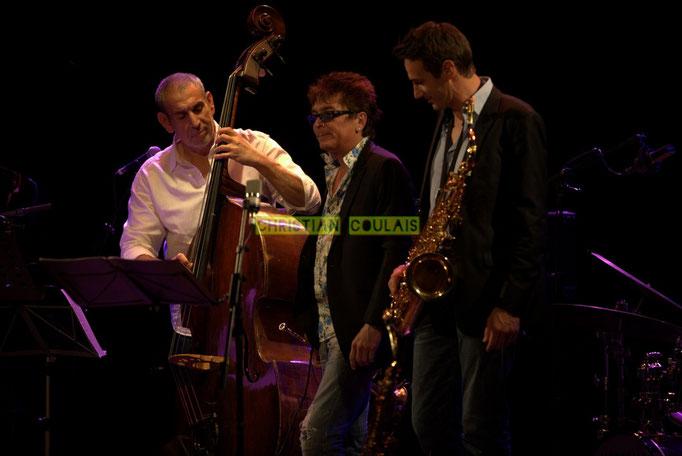 Festival JAZZ360 2014, Iazid Ketfi, Freddy Buzon, Thomas Lachaize; Asix Quintet, Cénac. 06/06/2014