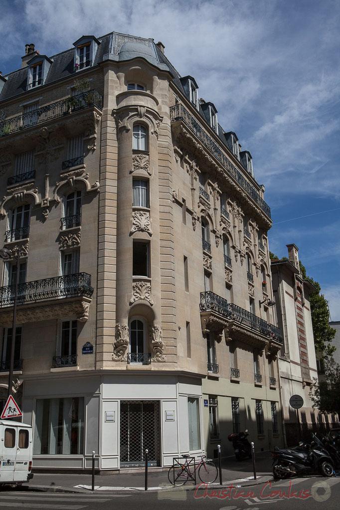 Rue Trousseau / rue de Candie, Paris 11ème arrondissement