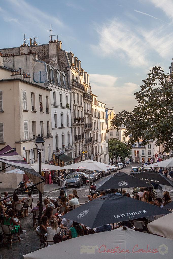 Place Emile Goudeau, Monmartre, Paris 18ème arrondissement