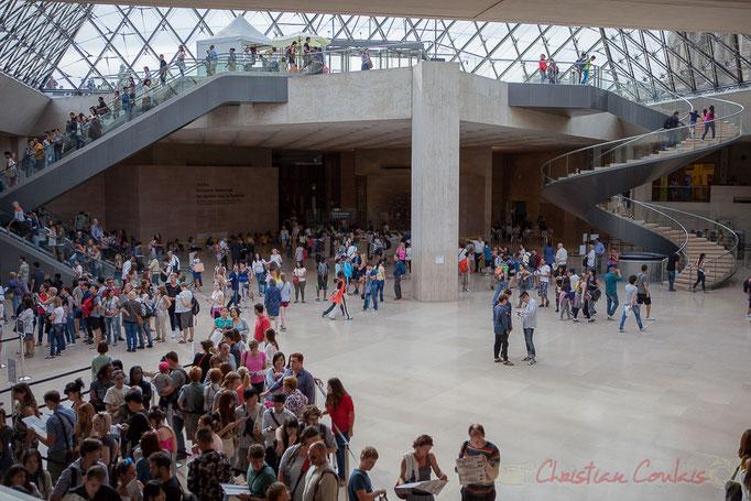 Hall Napolélon, Musée du Louvre