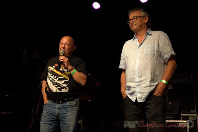 Festival JAZZ360, Alain Piarou, Président d'Action Jazz, Richard Raducanu, Président de JAZZ360