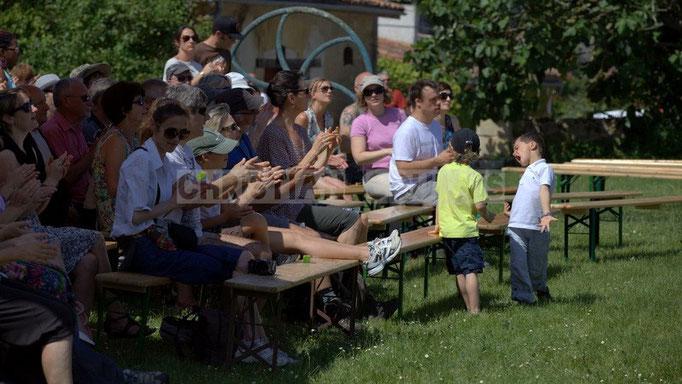 """""""Création de vocation"""" Festival JAZZ360 2014, château Lestange, Quinsac. 08/06/2014"""