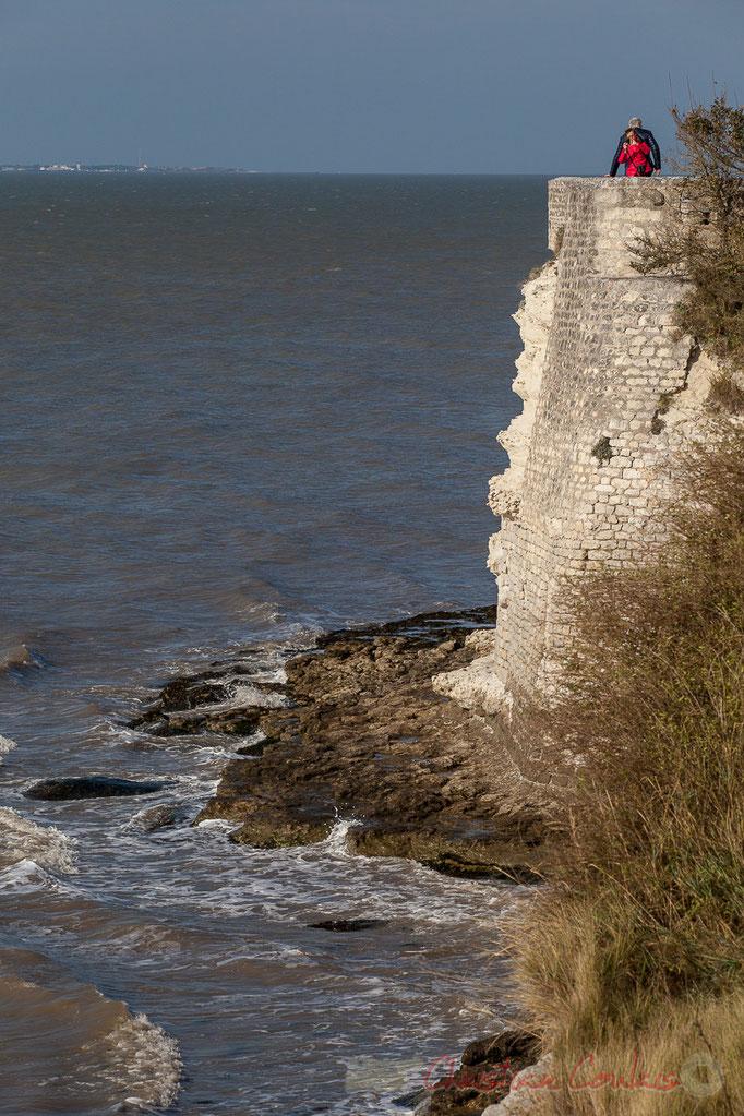 Remparts édifiés sur l'ordre du roi d'Angleterre Edouard Ier en 1284, Talmont-sur-Gironde
