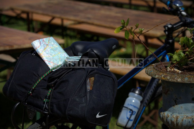 """""""On y vient même à vélo"""" Festival JAZZ360 2014, château Lestange, Quinsac. 08/06/2014"""
