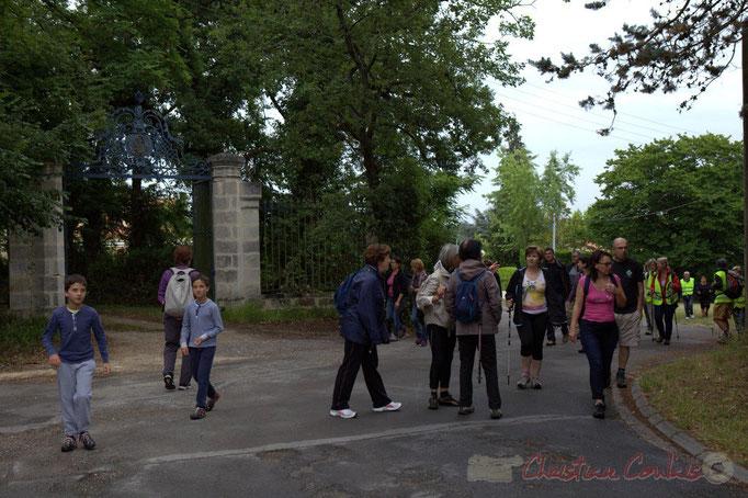 Festival JAZZ360 2015, randonnée pédestre, allée Lamothe, Cénac. 14/06/2015