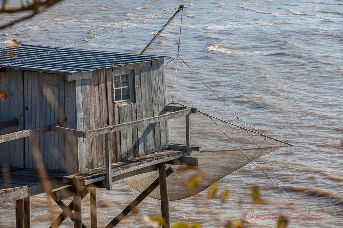 Carrelet et ponton, Talmont-sur-Gironde