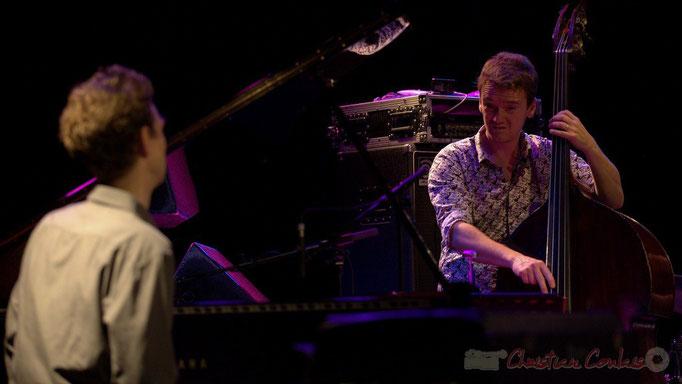 Festival JAZZ360 2015, Pierre de Bethmann, Stéphane Kerecki; Thomas Savy Quintet. Cénac, 13/06/2015