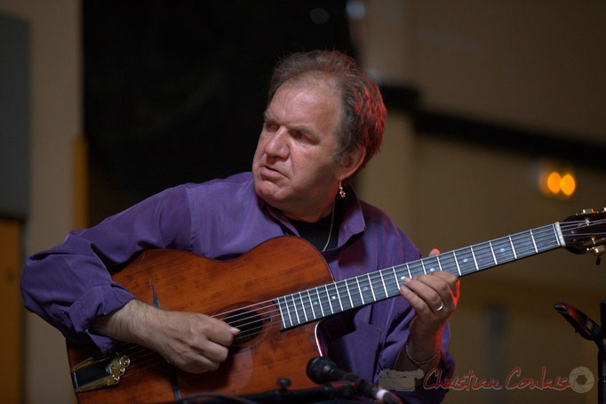 Jean-Michel Bourdier; Django Phil, Festival JAZZ360 2013, Latresne. 09/06/2013