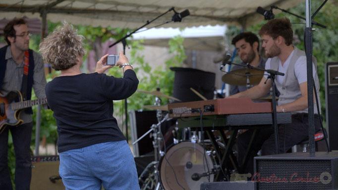 Festival JAZZ360 2015, Irène Piarou d'Action Jazz. Château Lestange, Quinsac. 14/06/2015