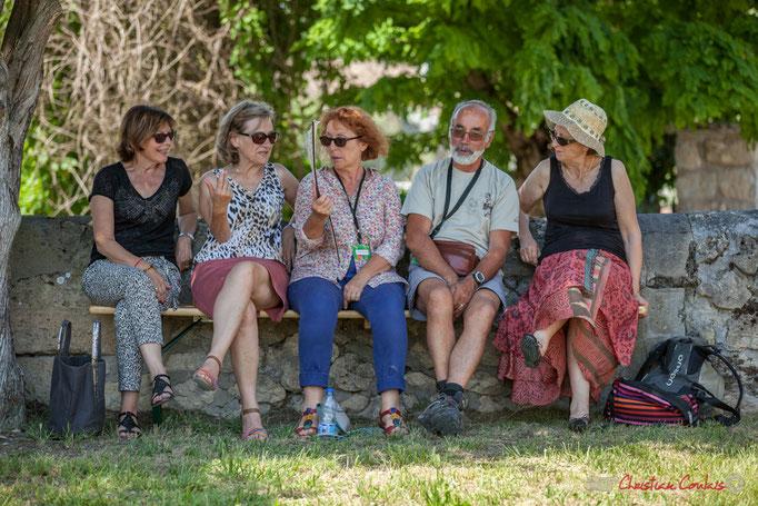 """""""Papotage à l'ombre des acacias"""" Festival JAZZ360, Quinsac. 11/06/2017"""