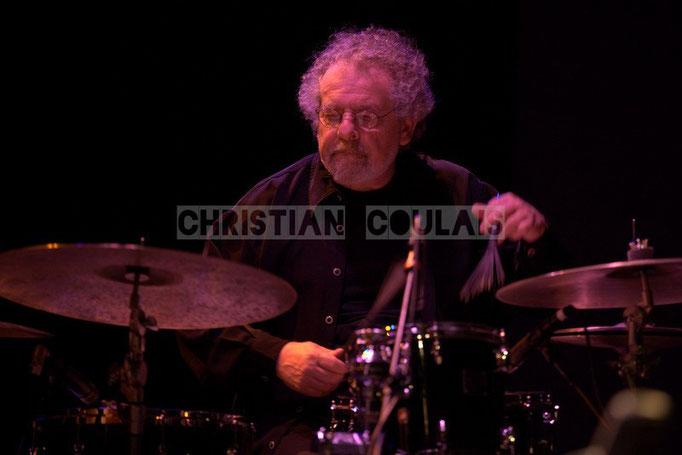 André Ceccarelli; Baptiste Herbin Quartet feat André Ceccarelli, Festival JAZZ360 2014, Cénac. 07/06/2014