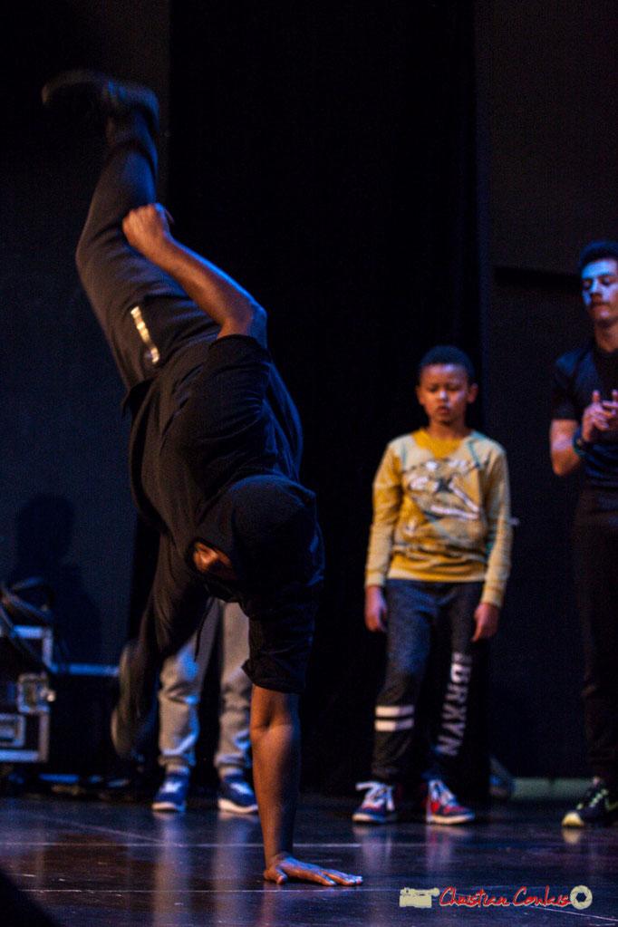 Battle (joute) Hip Hop avec les Petits Rats de saint-Caprais. Soirée organisée par l'AMAC, Cénac. 03/02/2018