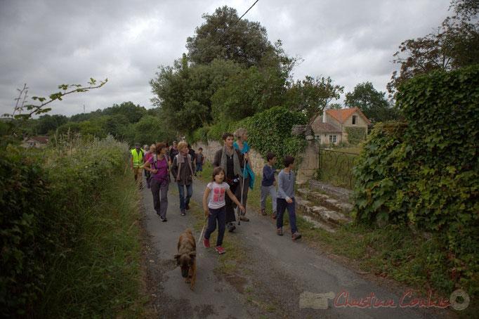 Festival JAZZ360 2015, randonnée pédestre, chemin de la grange, Camblanes-et-Meynac. 14/06/2015