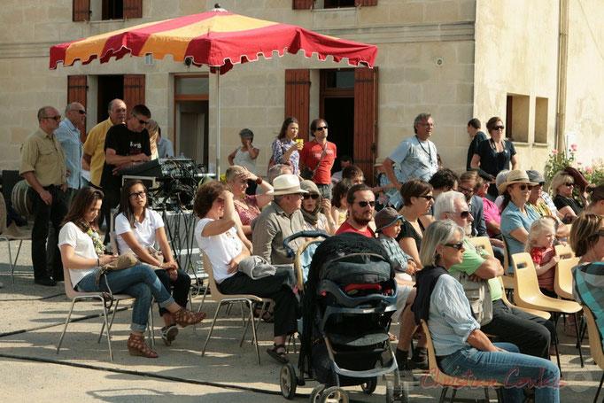 Festival JAZZ360, au Château du Garde, c'est une grande première que de recevoir un concert. Cénac. 05/06/2011