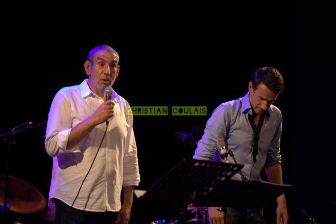 Festival JAZZ360 2014, Iazid Ketfi, Thomas Lachaize; Asix Quintet, Cénac. 06/06/2014