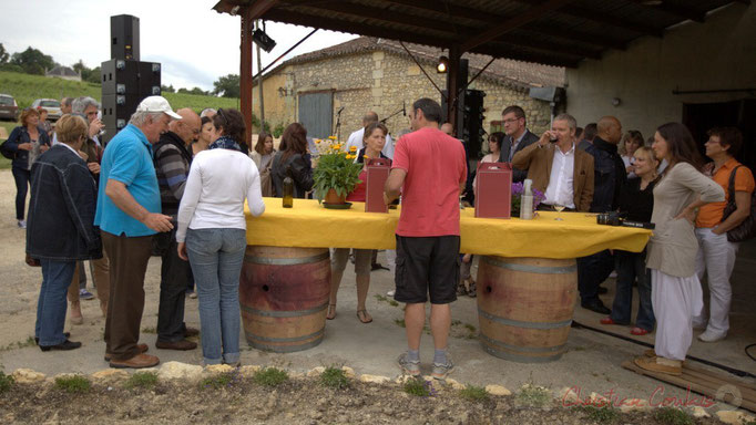 Festival JAZZ360 2012, dégustation offerte par le Château Roquebrune