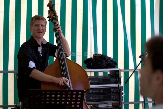 Festival JAZZ360 2014, Julien Daude; Thomas Mayeras Trio, Cénac. 07/06/2014