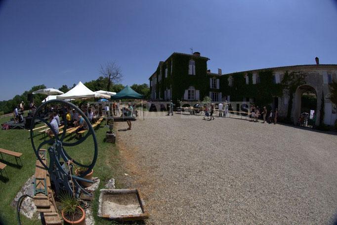 Festival JAZZ360 2014, Mil&Zim Jazz, château Lestange, Quinsac. 08/06/2014