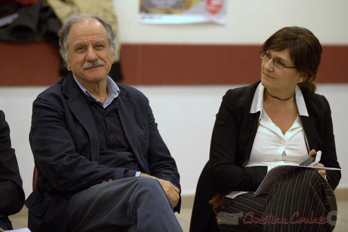Noël Mamère, Député-Maire de Bègles, Anne-Laure Fabre-Nadler, son assistante parlementaire