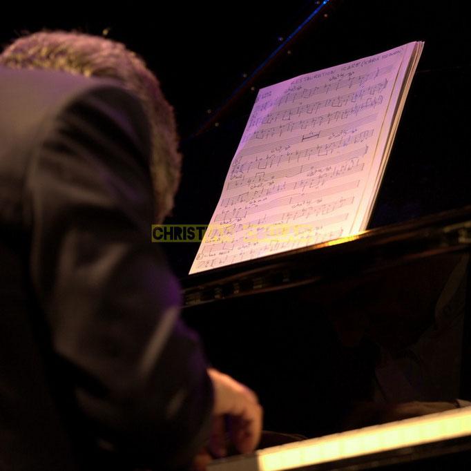 "Festival JAZZ360 2014, ""Partition Restauration Icare"" Giovanni Mirabassi; Christophe Laborde Quartet. Cénac, 06/06/2014"