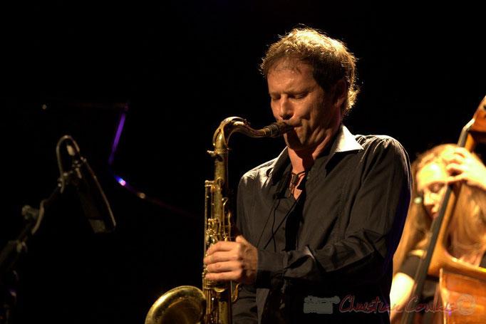 "Frédéric Borey; Frédéric Borey ""Lines"" Quartet, Festival JAZZ360 2012, Cénac. 08/06/2012"