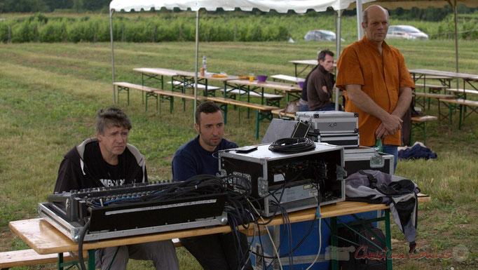 Festival JAZZ360 2015, Pablo Jaraute, Alexandre Andujar, techniciens son