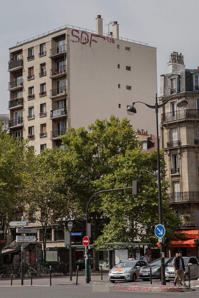 Avenue Philippe Auguste, Paris 11ème arrondissement