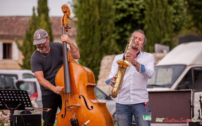François Mary, Valentin-Foulon-Balsamo; Docteur Nietzsche Quartet. Festival JAZZ360 2018, Cénac. 08/06/2018