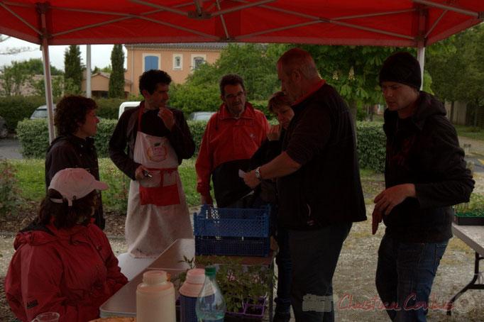 Assocation Jardins de tomates, située à Landiras