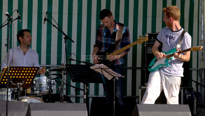 Festival JAZZ360 2014, Didier Ottaviani, Benoît Lugué, Christophe Maroye; EBop Quartet, Cénac. 07/06/2014