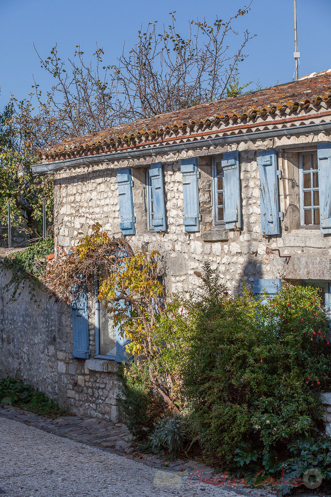 Damier de rues et ruelles de la Ville Close, Talmont-sur-Gironde
