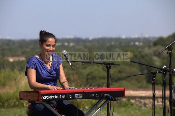 Valérie Chane-Tef; Akoda Quintet, Festival JAZZ360 2014, Quinsac. 08/06/2014