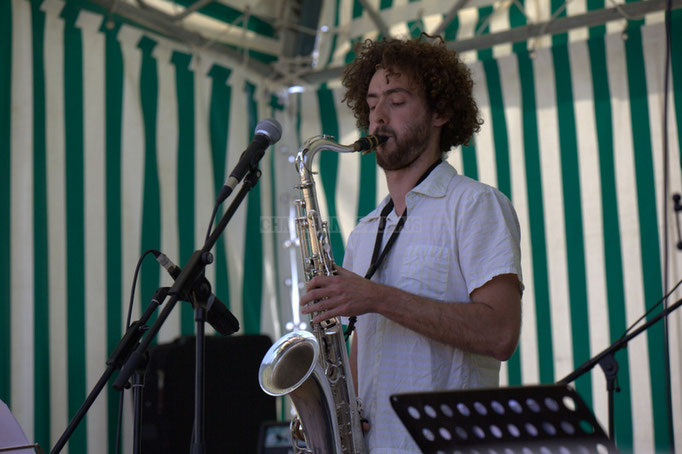 Festival JAZZ360 2014, Brice Matha; Delbosque Band. Cénac, 07/06/2014
