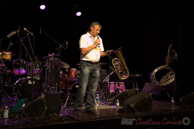 Richard Raducanu, élu en charge du festival JAZZ360