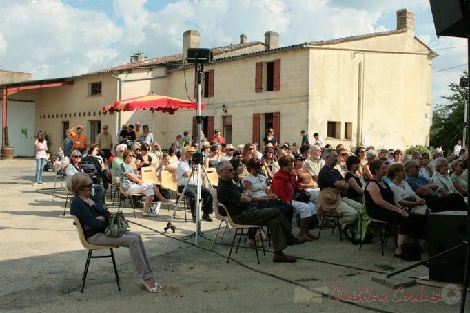 """Festival JAZZ360 2011, le public est """"monté"""" au Château du Garde, Cénac. 05/06/2011"""